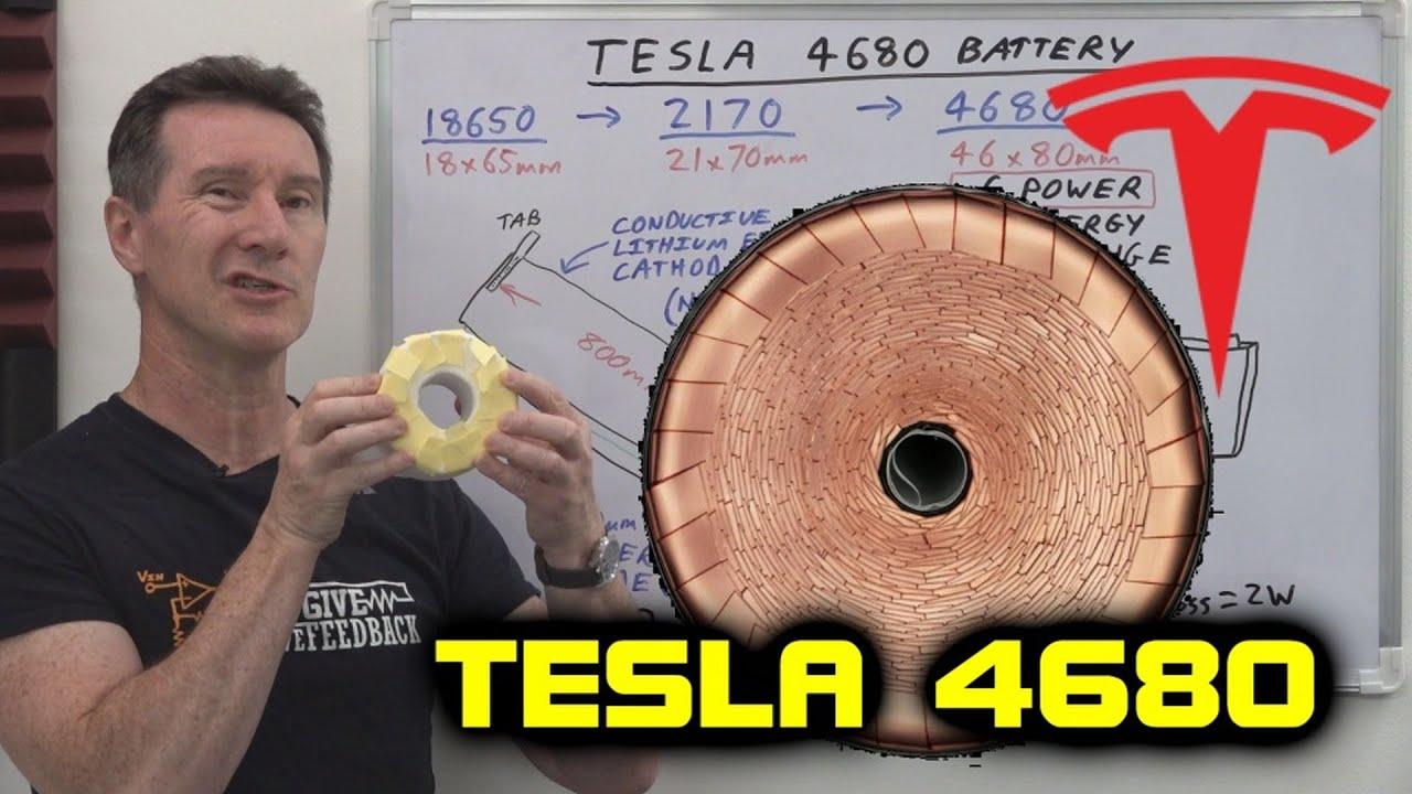 EEVblog #1340 - New Tesla 4680 Battery Cell EXPLAINED