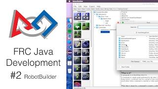 FRC Java Development 2 RobotBuilder