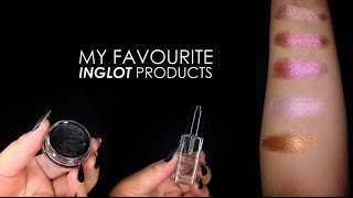 My Favourite Must have Inglot Products | TOP 10