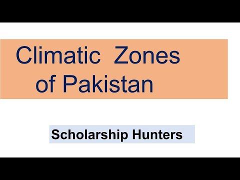Climatic Zones Of Pakistan