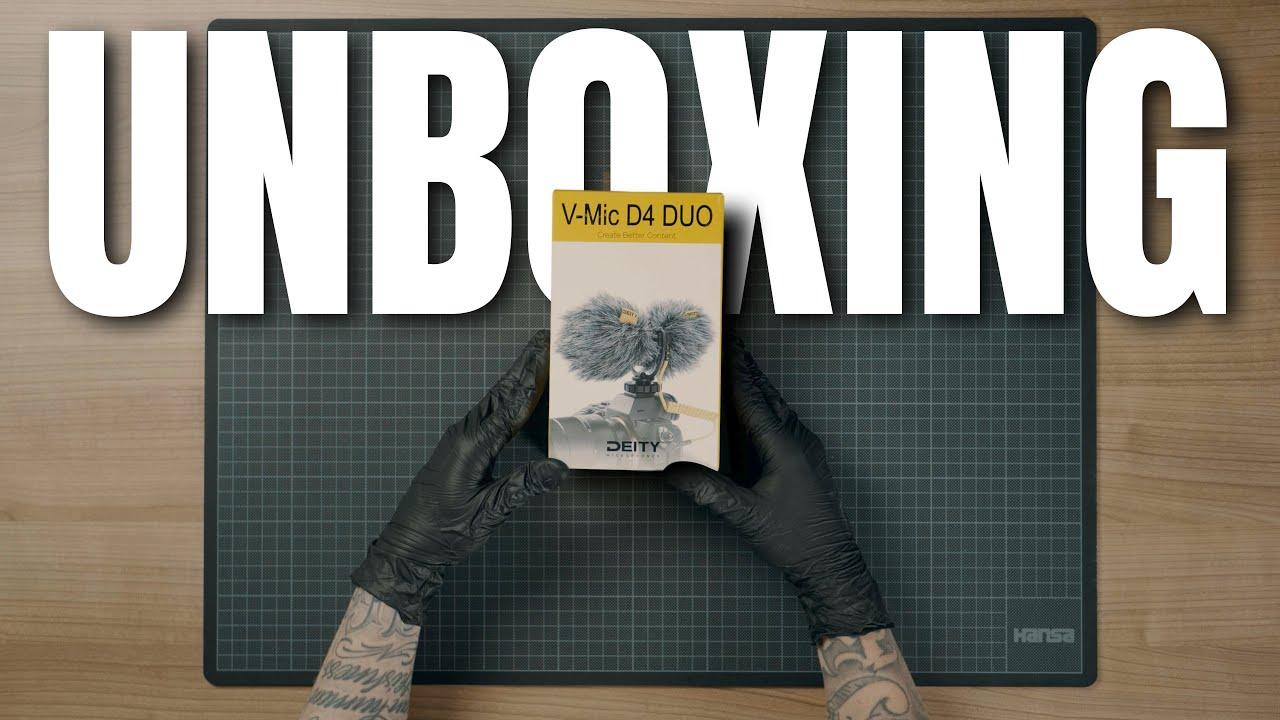 Unboxing: Aputure Deity V-Mic D4 Duo