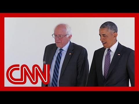 Bernie Sanders touts Obama's praise in TV ad but has been sharply critical of Obama in the past