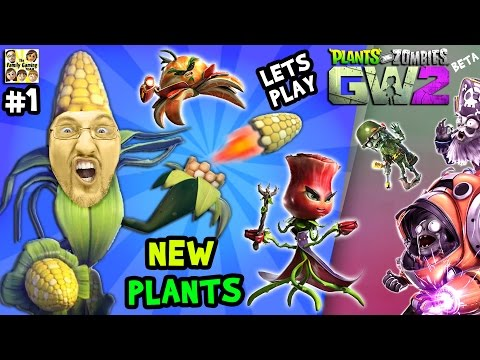 Lets Play Plants vs. Zombies Garden Warfare 2 #1:  NEW PLANTS SHOWCASE! (FGTEEV PVZ GW2 Beta)