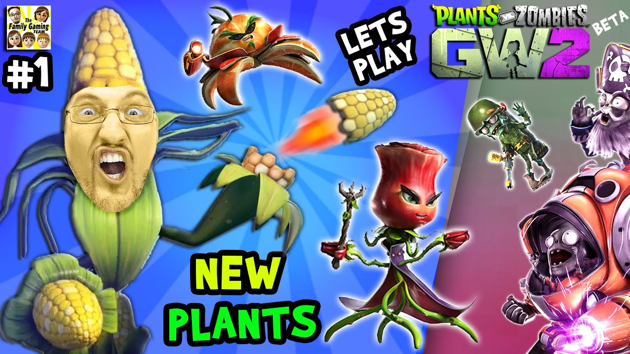 Lets play plants vs zombies garden warfare 2 1 new for New garden plants