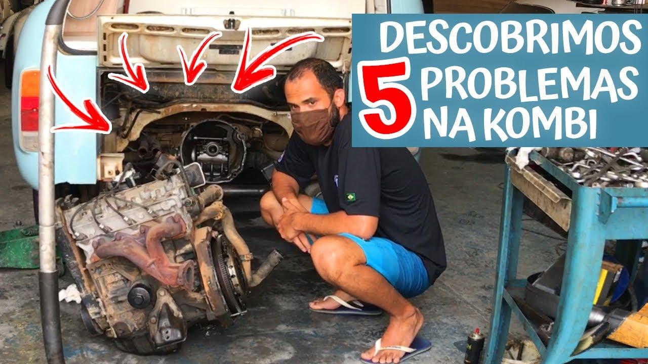 TIVEMOS QUE BAIXAR O MOTOR DA KOMBI MOTORHOME | T1 EP4
