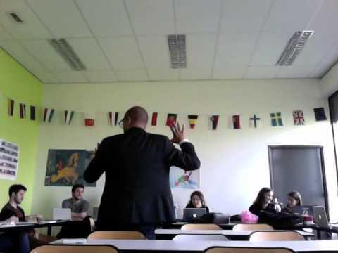 Heron Gordilho à Université François Rabelais, France, 27/03/ 2014