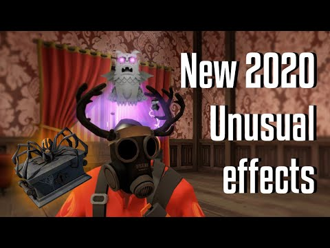Tf2 Unusual Halloween 2020 TF2: Scream Fortress 2020 (New Unusual Hat Effects)   YouTube