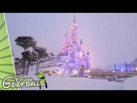 Snow in Disneyland Paris - Disneyland Paris 2018