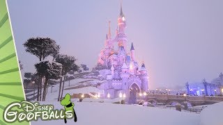Snow in Disneyland Paris - Disneyland Paris 2018
