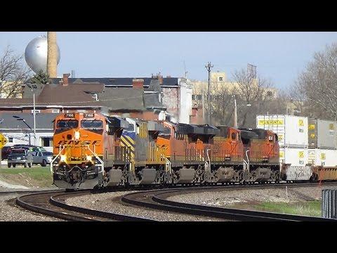 Railfanning CN IAIS BNSF and CP 4/11/16