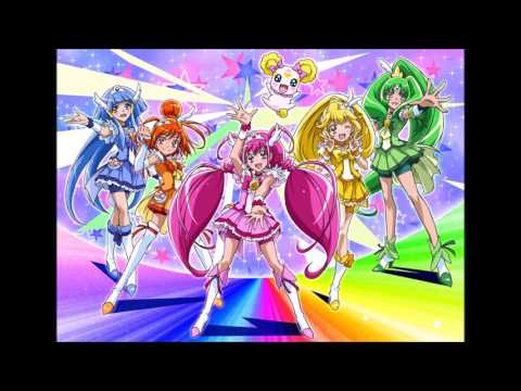 1 hour version of glitter force theme