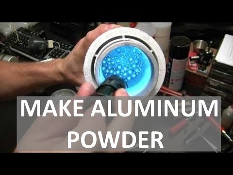 MAKING ALUMINUM POWDER - SUPER REACTIVE  - ELEMENTALMAKER