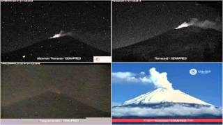 Popocatepetl - 20151219 - 18:00 A 23:59 Hrs