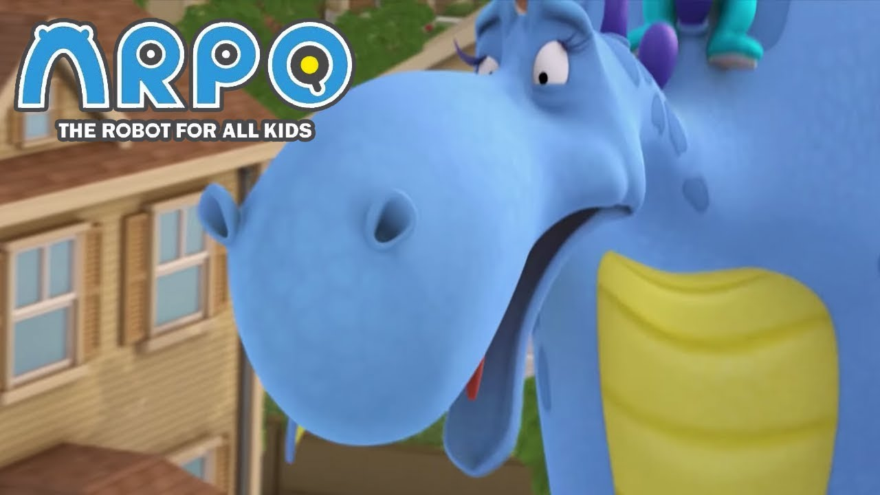 ARPO The Robot For All Kids - Big Blue Dragon | Compilation | Cartoon for Kids