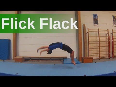 Flick Flack in 6 Schritten lernen - Flick Flack Tutorial - Angstfrei den Flick Flack  üben
