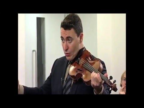 Vengerov: Controlling Vibrato In Mendelssohn Violin Concerto