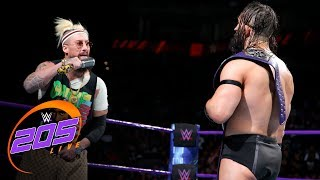 Enzo Amore kicks WWE Cruiserweight Champion Neville where it counts: WWE 205 Live, Sept. 19. 2017 thumbnail