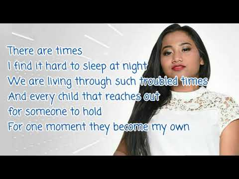 Maria Idol  Stand Up For Love  Lyrics