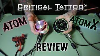 CRITICAL ATOM / ATOM X  / TATTOO POWER SUPPLY REVIEW