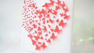 Сердце из бабочек DIY - Made it!