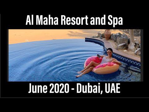 Al Maha Resort and Spa - Dubai UAE (lockdown staycation!)