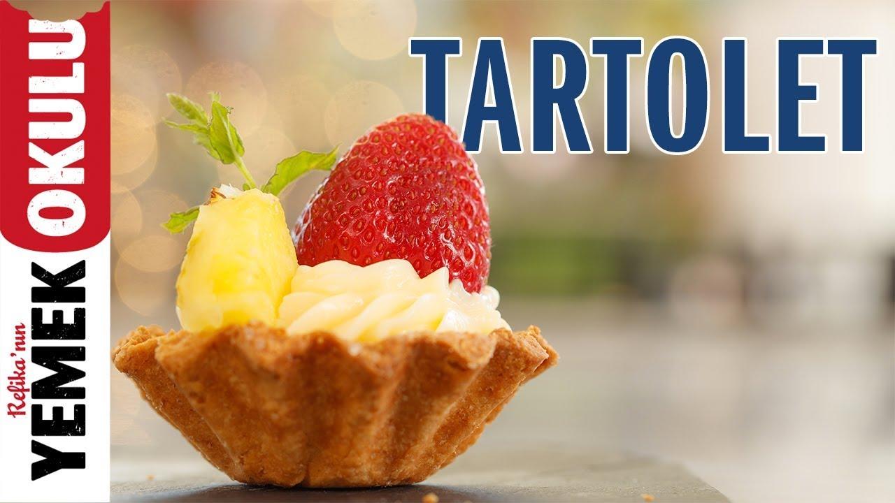 Kremalı Meyveli Tartolet Tarifi | İlkay'ın Pasta-Hanesi