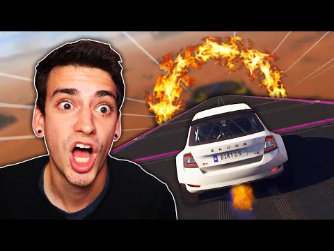 THE MOST DANGEROUS CAR OBSTACLE COURSE! (Dirt 5)