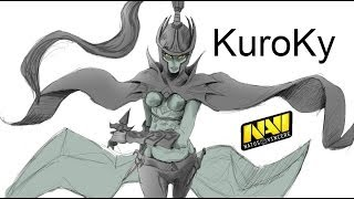 Dota 2 NaVi.Kuroky Phantom Assassin 3 Sange and Yasha