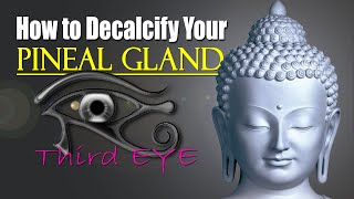 How to Decalcify Your Pituitary Gland & Pineal Gland, our 3rd Eye (Updated & Extended)