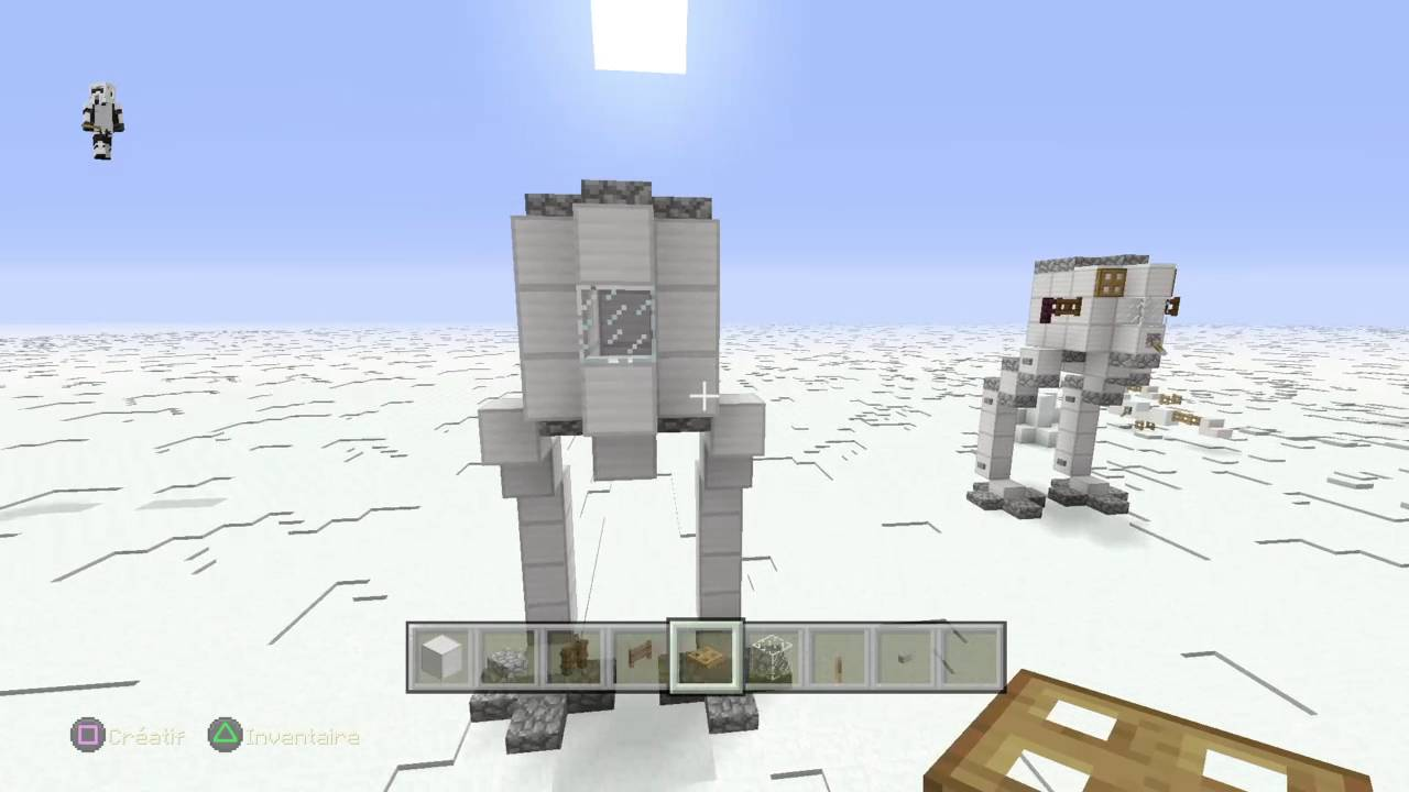 minecraft: playstation®4 tuto: comment construire un tr-tt (star