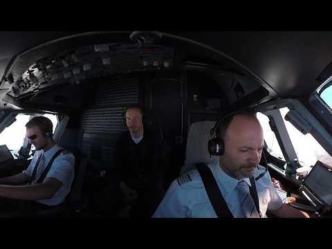 360° cockpit view | Airbus A320 | Takeoff Faro