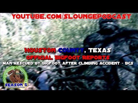 Official Texas Bigfoot Sightings and BCS - SLP531