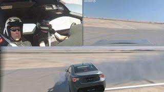 Gran Turismo 6 GPS Vizualizer 360 Spinout Captured! Thumbnail
