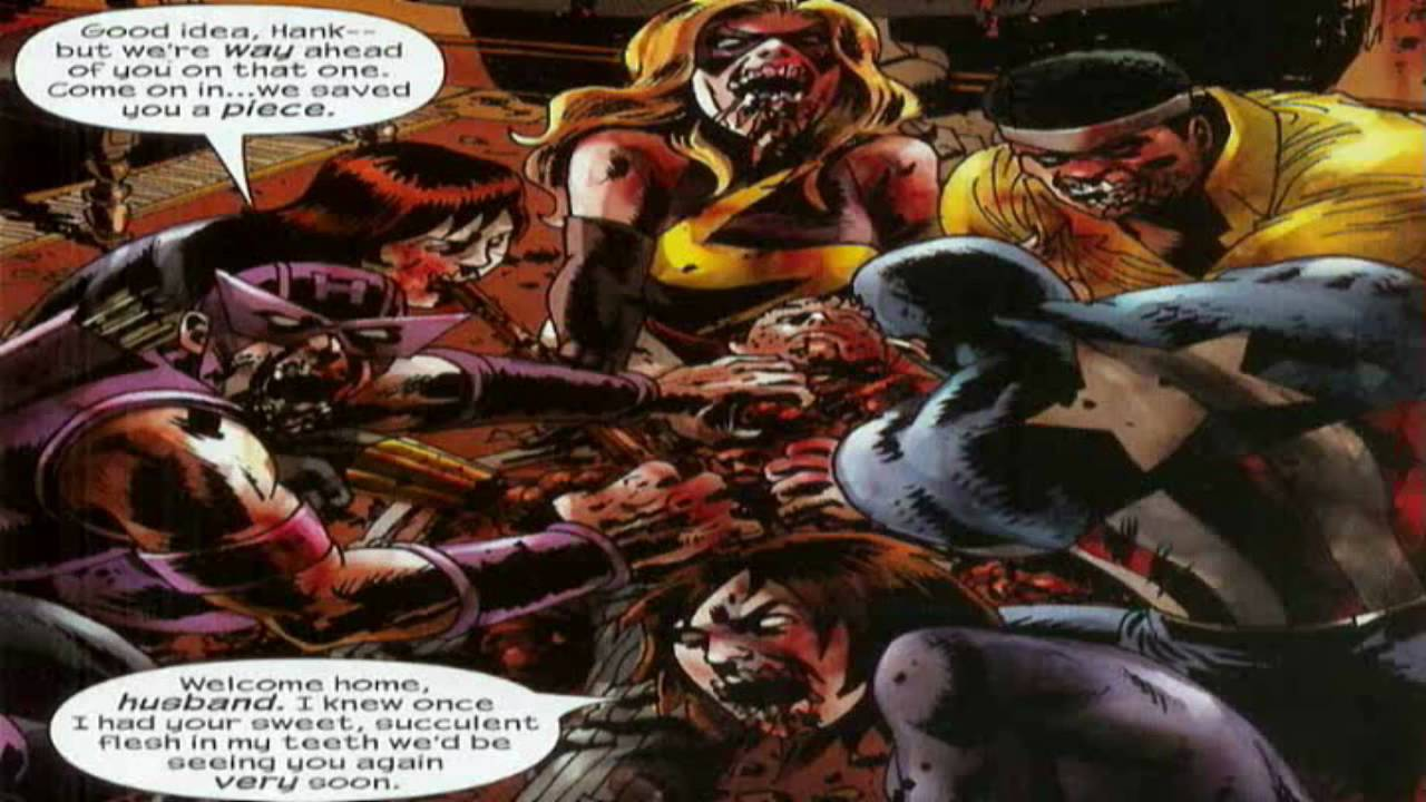 Comics Marvel Zombies The Consuming Hunger Youtube
