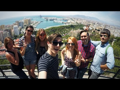 AMAZING DAY IN MALAGA, SPAIN!