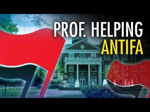 Prof Helps Antifa Dox 'Far-Right Extremists' | Campus Unmasked