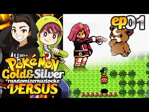READY SET GO!! | Pokemon Gold & Silver Randomizer Nuzlocke Versus w/ OPERATIONiDROID! #01