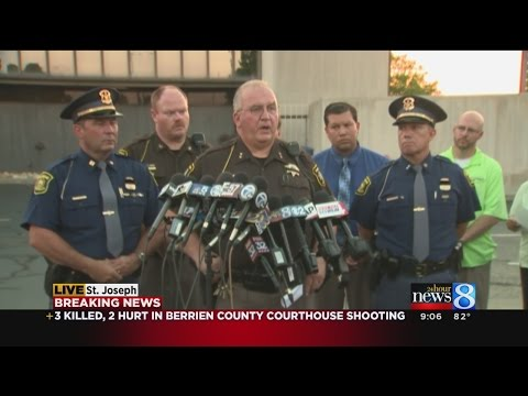Sheriff ID's victims in Berrien County Courthouse shooting