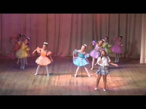 Александра Церлюкевич 9 лет - Родны мой горад - Alexasha и балет Стрекоза