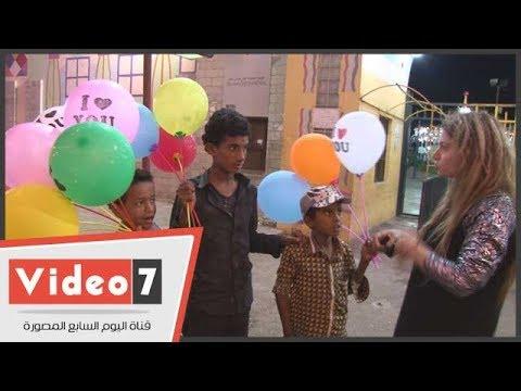 اليوم السابع :الأطفال النازحون إلى
