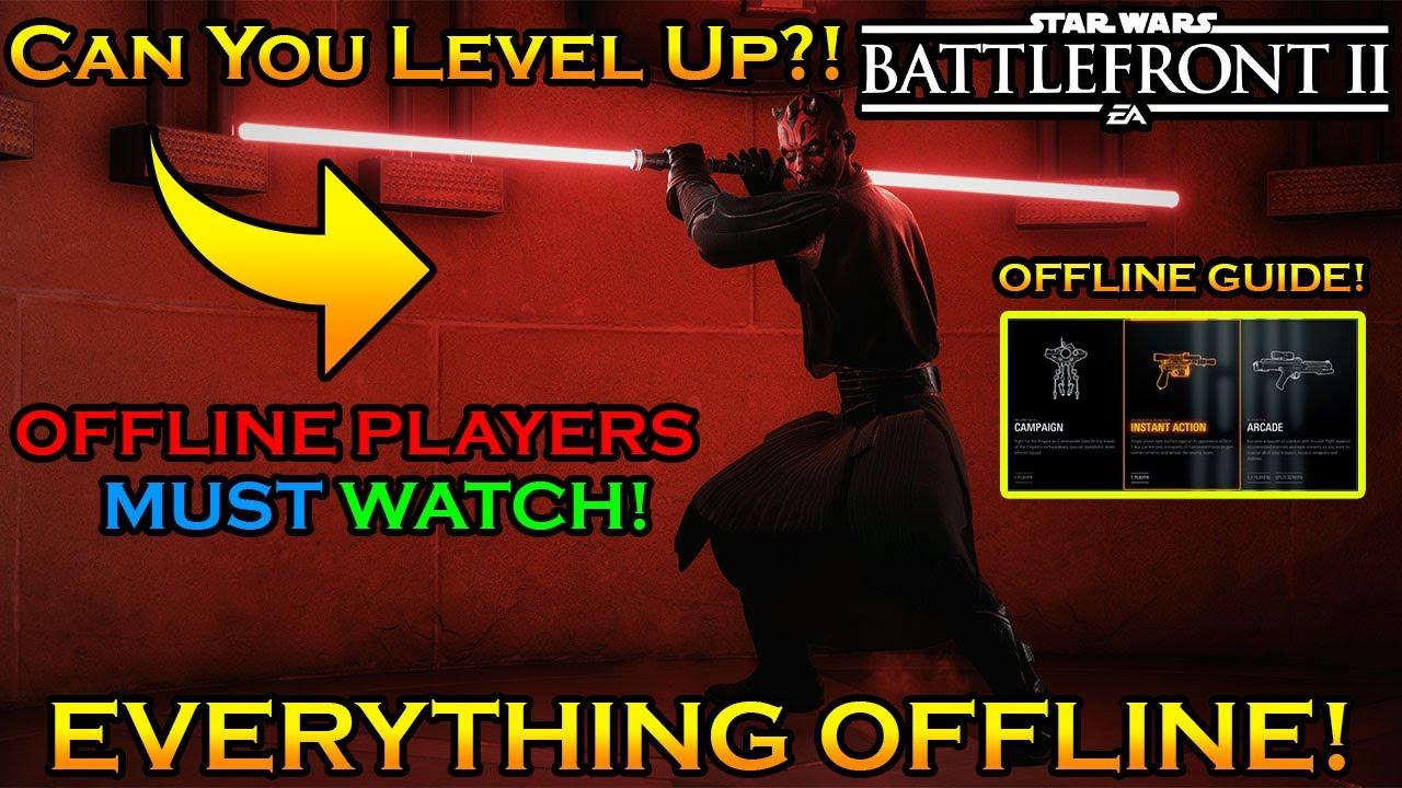 Download Is Star Wars Battlefront 2 Worth Buying For Offline Content!?! Offline Full Guide & Walk-Through!