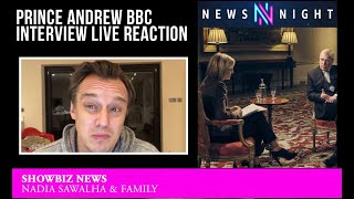 Prince Andrew BBC Interview LIVE REACTION
