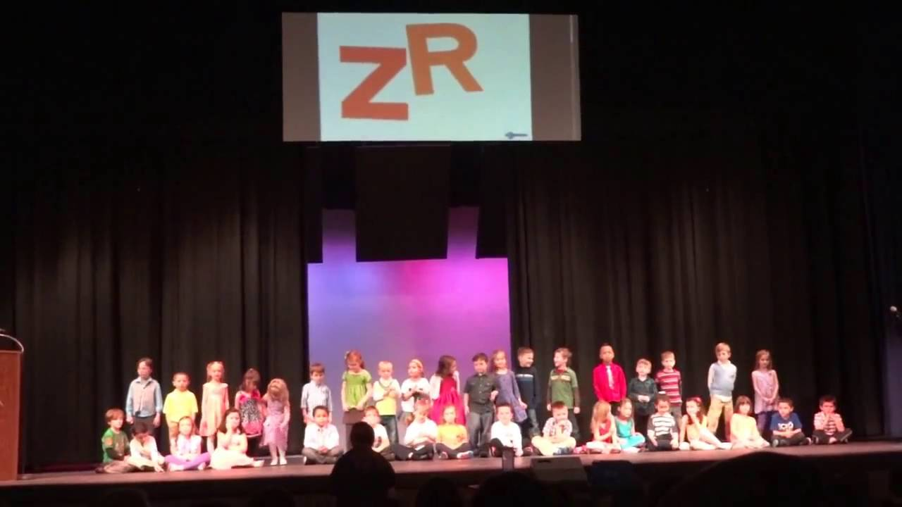 Alayna sings Chicka Chicka Boom Boom Kindergarten - YouTube