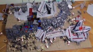 LEGO Star Wars DEUTSCH Base Destruction 4 in SLOW MOTION