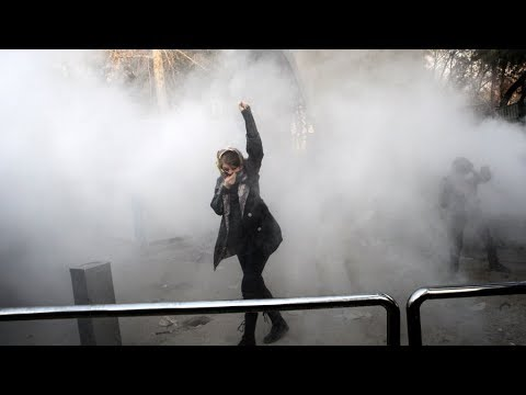 Widespread protests against Islamic regime of Iran,  Bread and Roses TV