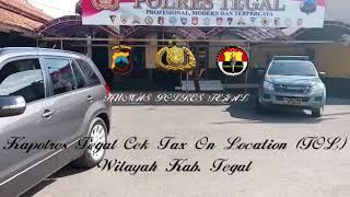 POLRES TEGAL - April 2018. Kapolres Tegal AKBP Dwi Agus Prianto, SIK., M.H. Cek Kesiapan TOL