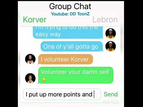 Cavs offseason Group Chat Part 2