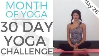 Day 28 - Values  // #MonthOfYoga - 30 Day Yoga Challenge