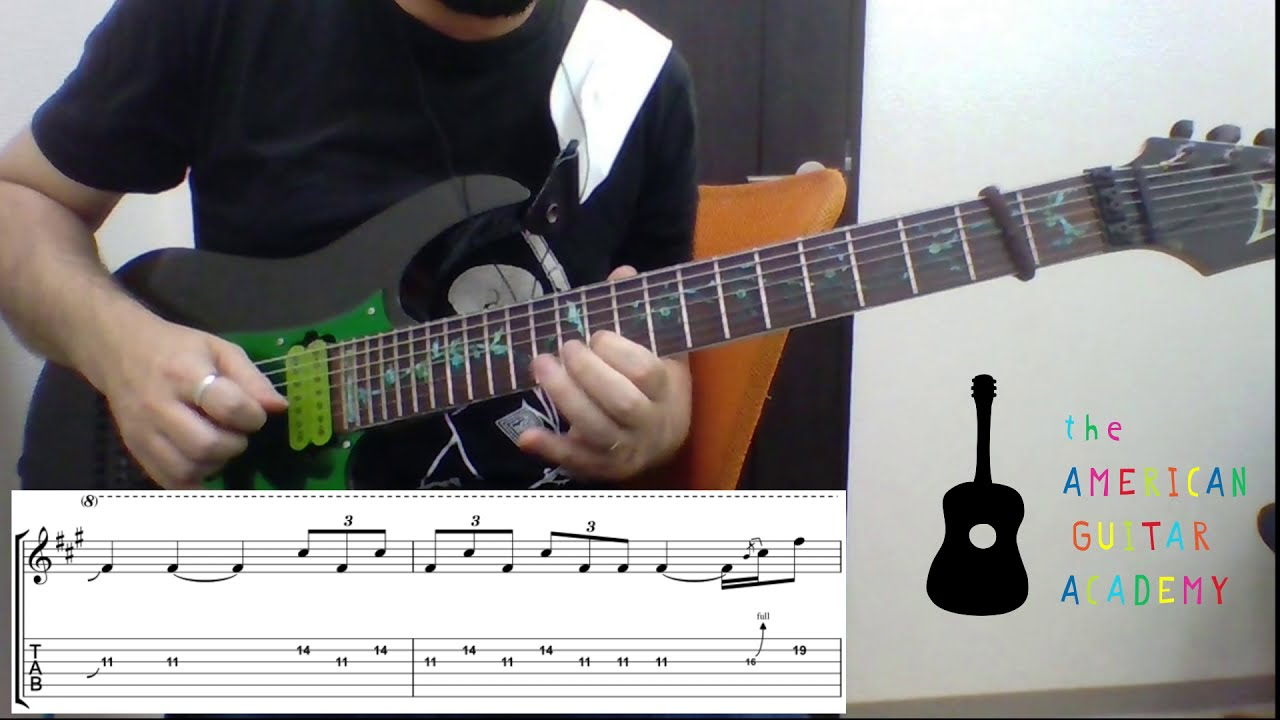 "How to Play the ""Flight of Icarus"" solo (Iron Maiden) - with Guitar Tab"