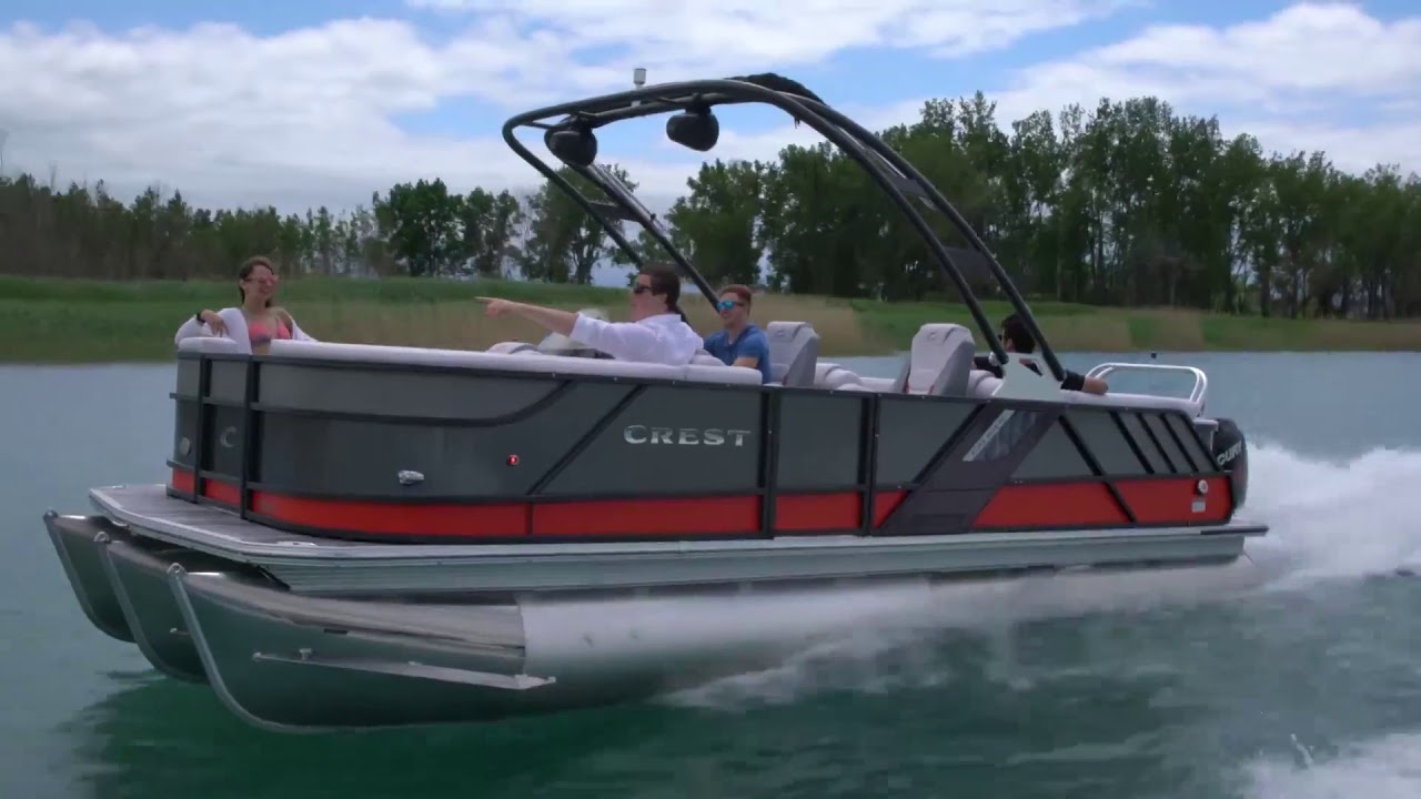 Carolina Coach And Marine- Crest Pontoon Boats- CP3 Performance